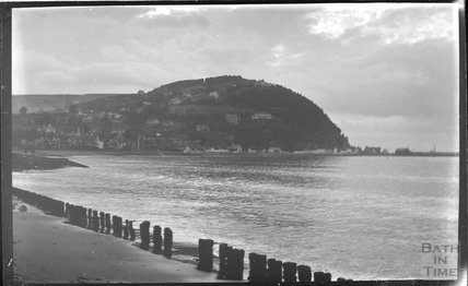 The seafront at Minehead 1914