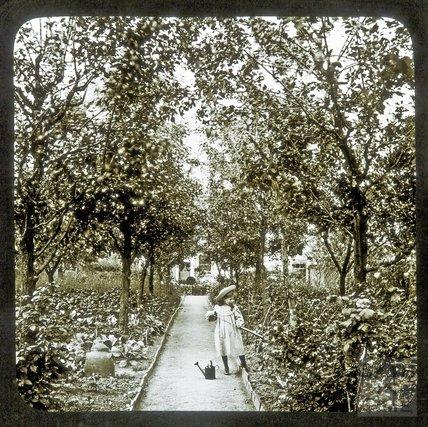 A Little Gardener, c.1890s