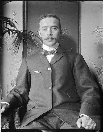Portrait of Percy Dafnis, c.1890s