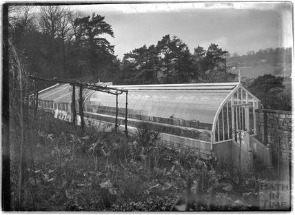 Greenhouse at Monkton House, c.1910s