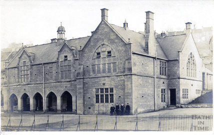 Oak Street Schools, off the Wells Road c.1905