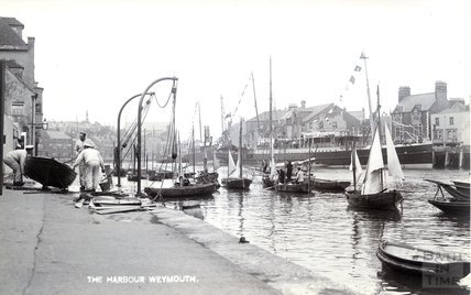 The Harbour, Weymouth c.1910