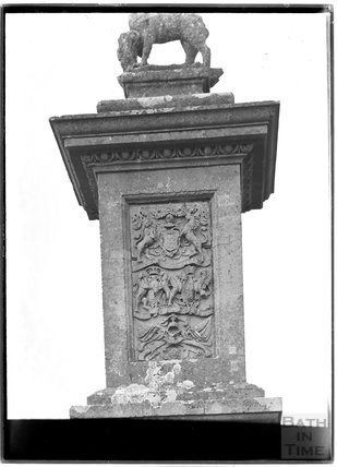 The east side of the Lansdown Monument, c.1920s