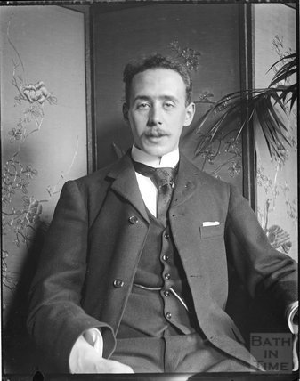 Self portrait of George Love Dafnis, c.1890s