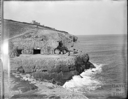 Tilly Whim Caves, Swanage, Dorset, c.1890s