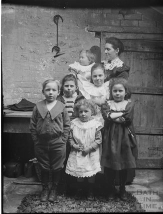 An unidentified group of children, c.1890s