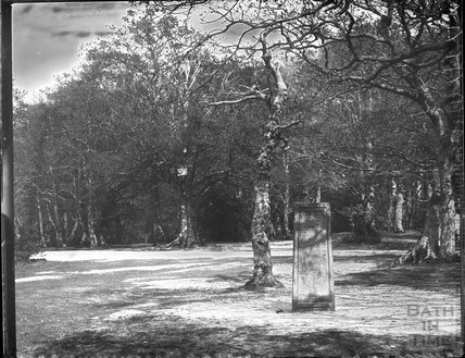 The Rufus Stone, New Forest Hampshire c.1890s