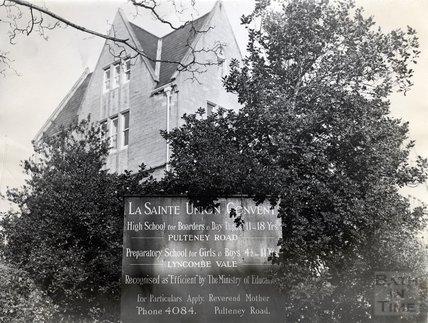 La Sainte Union Convent School, Pulteney Road, Bath 16 March 1970