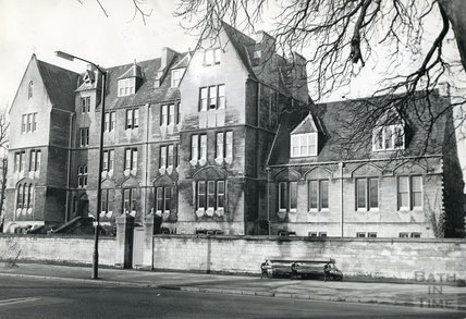 La Sainte Union Convent School, Pulteney Road, Bath 16 March 1970