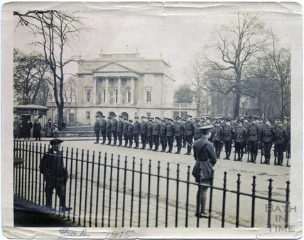 On Parade, Great Pulteney Street, Bath, 1915