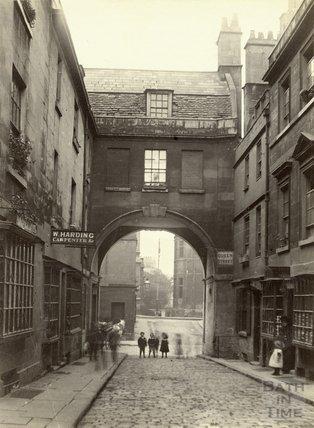 Queen Street, Bath  c.1890
