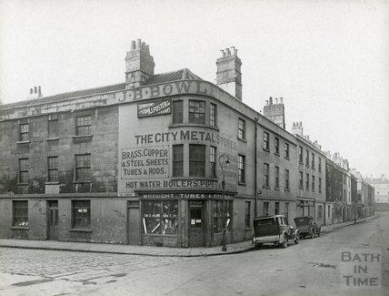 J.B. Bowler, Corn Street, Bath c.1930s
