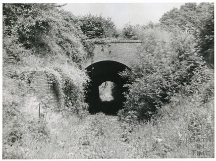 Somersetshire Coal Canal, Combe Hay tunnel, 1960