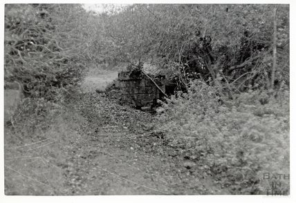 Somersetshire Coal Canal, Midford aqueduct 16 November 1968