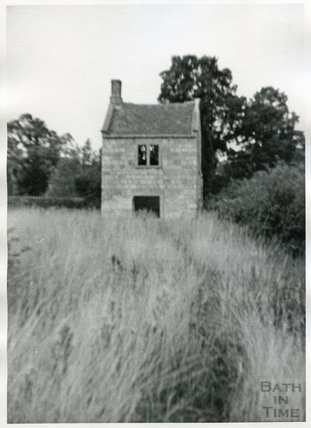 Somersetshire Coal Canal, Cottage at Timsbury Basin, c.1960s?