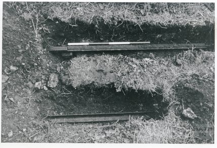 Somersetshire Coal Canal, Radstock excavations, c.1969
