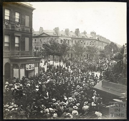 Laura Place at Time of Diamond Jubilee celebrations 1897