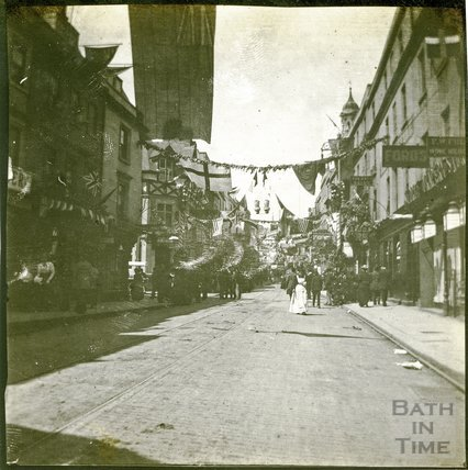 Southgate Street and Stall Street at Time of Diamond Jubilee 1897
