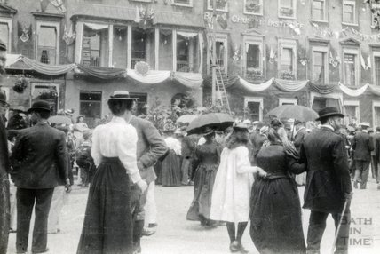 Diamond Jubilee Celebrations, George Street, Bath 1897