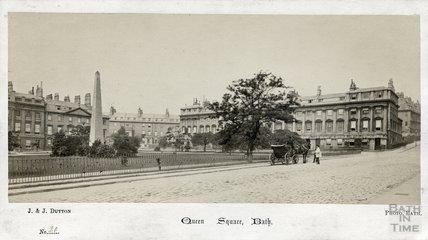 Queen Square, Bath c.1865