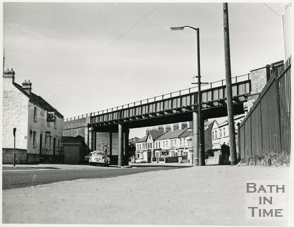 Red Bridge and Royal Oak, Lower Bristol Road, c.1960s