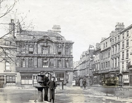 1, New Street, 14 to 17, Kingsmead Square and 31 to 38a, Kingsmead Street, Bath c.1903