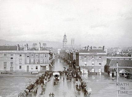 The Great Flood, Bath, November 1894