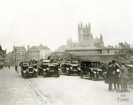 John Wood Bicentenary, Parade Bridge and Lower Assembly Rooms, Bath, 1927