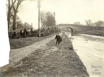 Kennet and Avon Canal, Bathampton c.1890