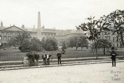 Queen Square c.1880 - detail