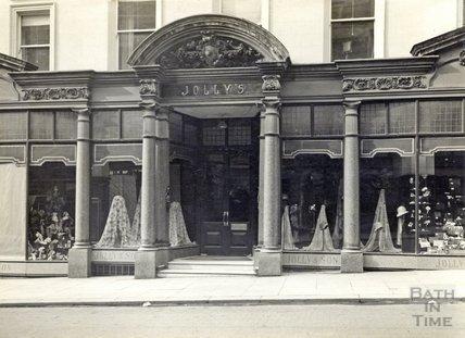 Jolly & Son, Milsom Street facade, c.1930s?
