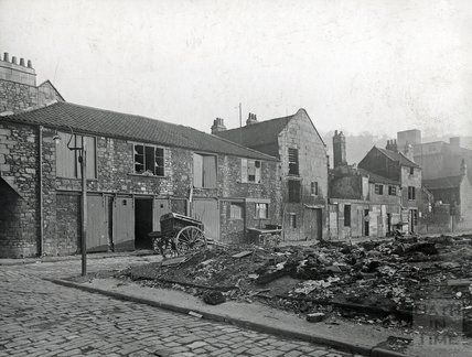 Back Street, Bath, near Avon Street, c.1920s