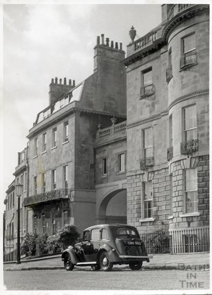 William Beckford's House, Lansdown Crescent c.1950s