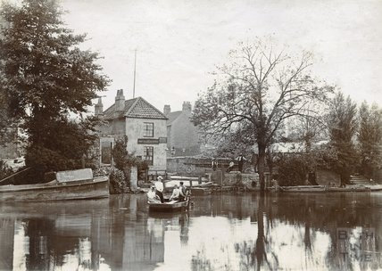 Old Ferry, Twerton c. 1880