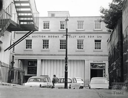 Jolly's Auction Rooms, Old King Street, 1969