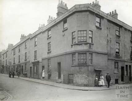 Corner of Peter Street and Corn Street, c.1900
