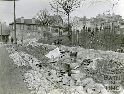 Upper Bristol Road, Looking at Victoria Park, March 1921