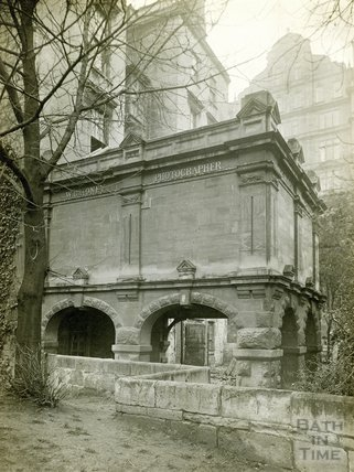 W.C. Honey photographers, back of Orange Grove, c.1900