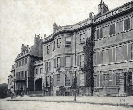 William Beckford's House, Lansdown Crescent c.1880s