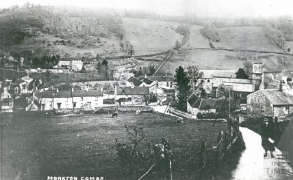 View of Monkton Combe c. 1919