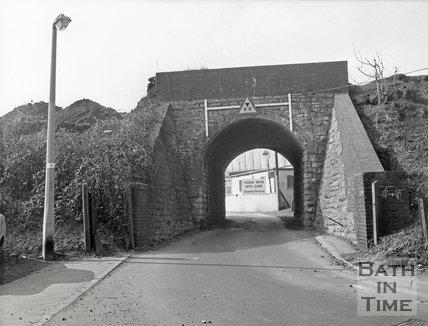 Railway Bridge over Dartmouth Avenue, 1970