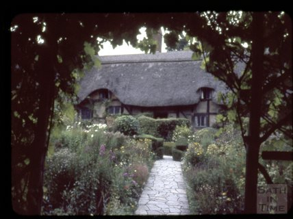 Ann Hathaway's Cottage, Stratford on Avon, 1965