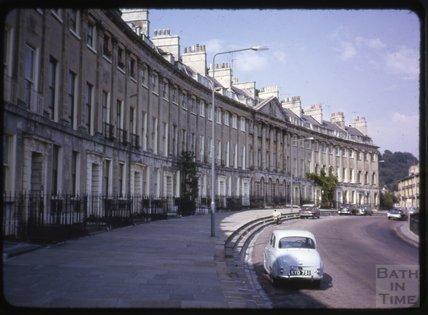 Camden Crescent, Bath, 1965