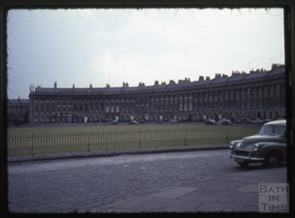 Royal Crescent, Bath, 1965
