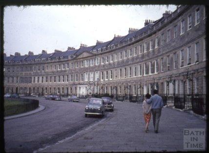 Lansdown Crescent, 1965