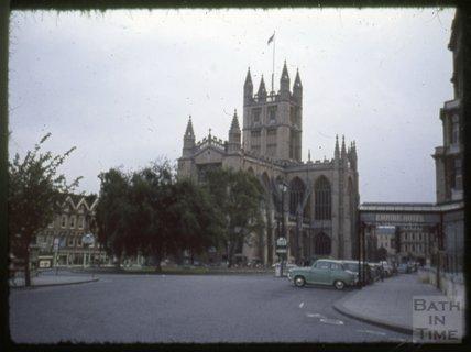 The Empire Hotel, Abbey and Orange Grove, Bath, 1965