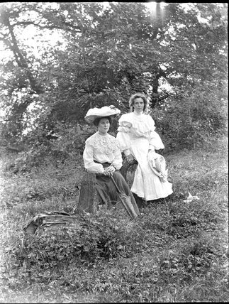 Two unidentified women, c.1900s
