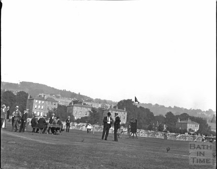 Sports Day on the Recreation Ground, Bath c.1900s