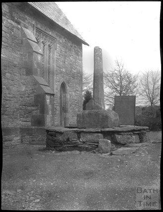 Churchyard Cross, Exford c.1910