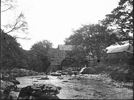 Unidentified water mill, c.1900s